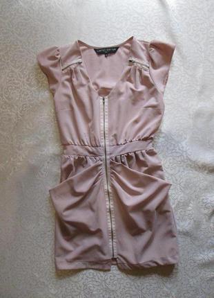 Платье с карманами new look