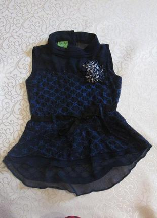 Блузка нарядная на 6 лет