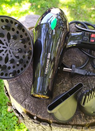 Фен сушка для укладки волос.2 насадки.дифузор.Новый