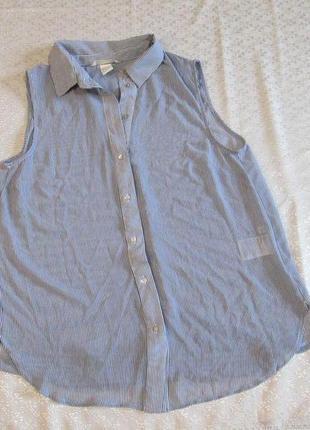 Блузка полосатая  h&m