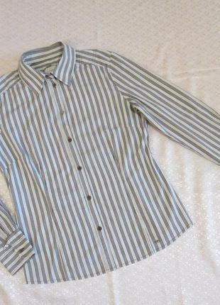Рубашка полосатая, в полоску, полоска tom tailor