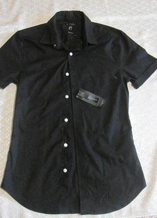 Рубашка черная new look