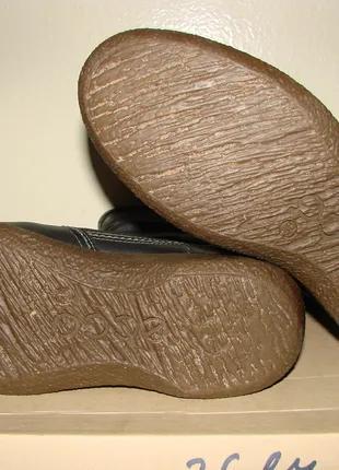 Сапоги женские ECCO, размер 38, натуральная кожа