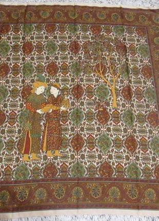 Платок итальянский, косынка art of the scarf