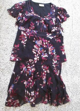 Костюм летний, блузка и юбка ann harvey