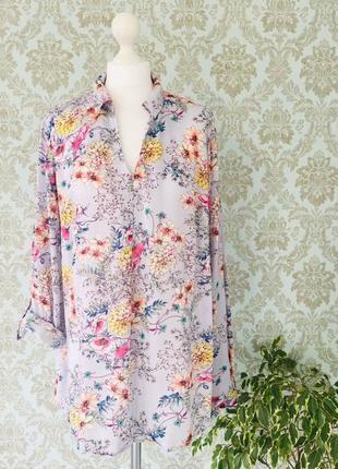 Рубашка в цветочный принт f&f