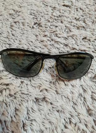 Поляризационные очки ray-ban olympian rb3119 006/48