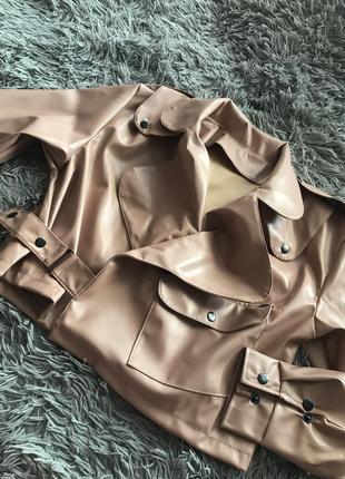 Курточка косуха экокожа