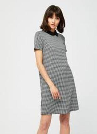 Платье классика с воротничком. новое! tm moodo