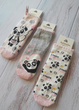 Набор-комплект. носки детские хлопковые. katamino