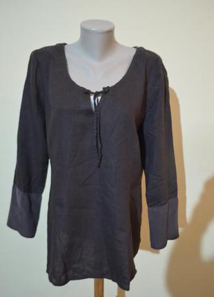 Очень красивая блузочка лен шелк