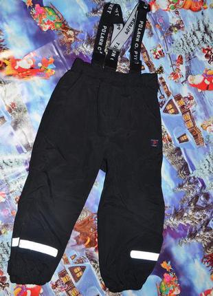 Деми полукомбинезон - штаны polarn o pyret (британия) 98см