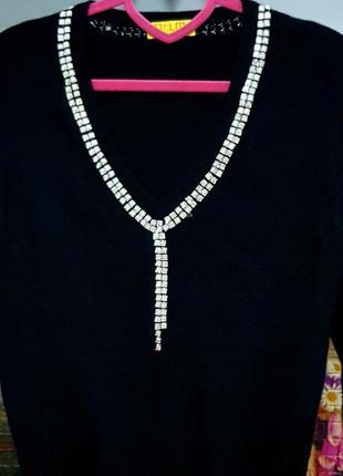 Элегантный свитер dtlm от repeat, 100% кашемир, swarovski