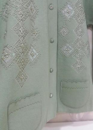 Красивенный жакет, кофта размер 46 -48 paramour collection
