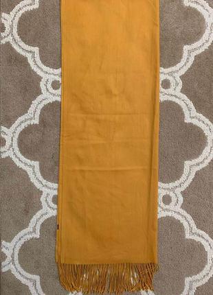 Желтый шарф отличного качества, новый!