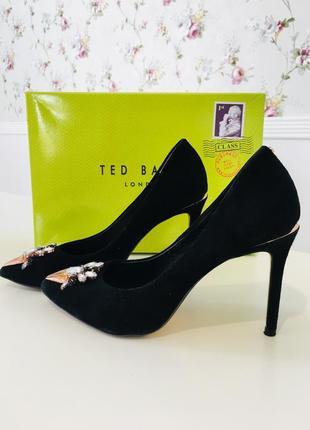 Ted baker туфли замшевые