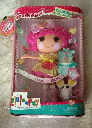 Большая кукла Лалалупси Lalaloopsy Crumps Shugar Cookie 33 см
