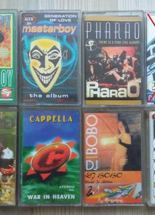 Домашняя коллекция аудиокасет