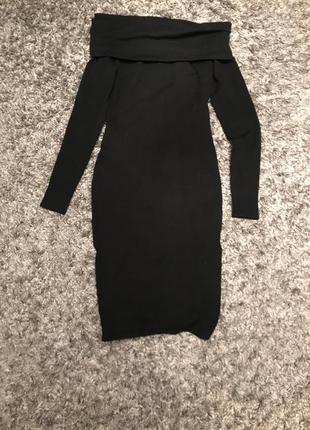 Трикотажное платье чехол
