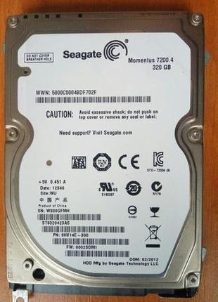 Жесткий диск для ноутбука Seagate Momentus 7200.4 320 GB