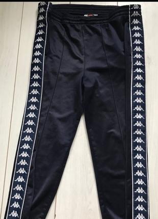 Спортивные штаны kappa с лампасами(оригинал)б/у