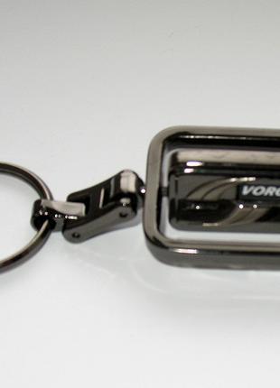Брелок Voronin Jeans для ключей металл брендовый Воронин Джинс