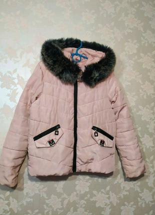 Куртка зимняя парка пуховик