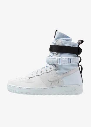 Мужские ботинки SF Air Force 1 High Blue Tint