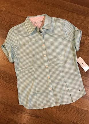 Рубашка tommy hilfiger , p.10/s-m
