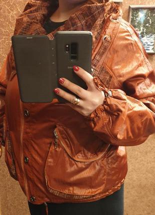 Тёплая куртка весна осень  размер 52-54