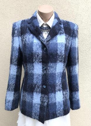 Винтаж,мохер,шерсть жакет,пиджак,блейзер,люкс бренд,,пальто в ...