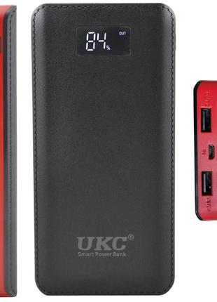 Внешний аккумулятор Power bank UKC 50000 повер банк 4 USB фонарик