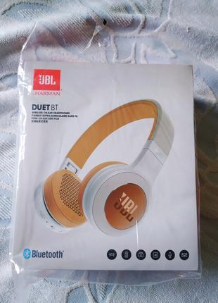 Новые беспроводные наушники JBL DUET BT. Оригинал. Куплены в США.