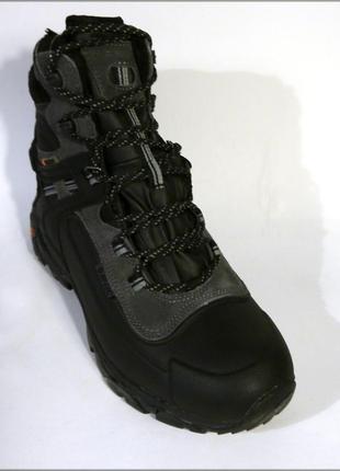 Hi-tec ravus chill 200 черные водонепроницаемые ботинки оригинал