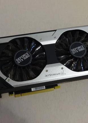 Видеокарта Palit GEFORCE GTX 1060 6GB JetStream (идеальное сост.)