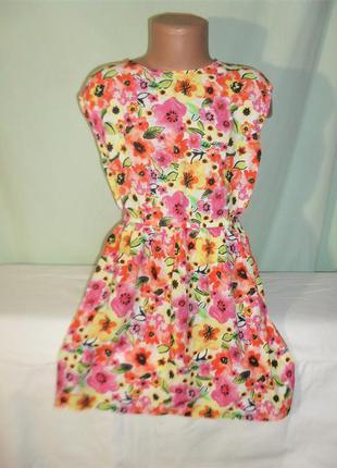 Летнее платье на 7-8лет