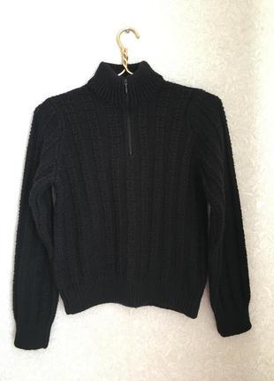 Тёплый вязаный свитер, джемпер на мальчика ~10-12 лет, borgofiori