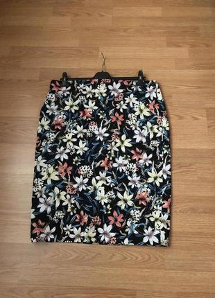 Красивейшая трикотажная юбка-карандаш большого размера бренда ...