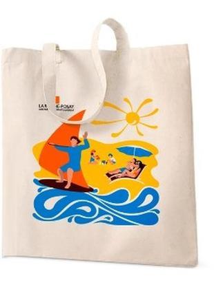 Летняя эко-сумка la roche-posay