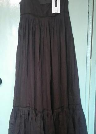 Длинное платье из нежнейшего хлопка