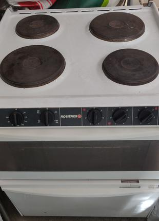 Электрическая духовка с посудомойкой Rosieres (три в одном)