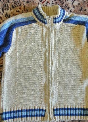 Теплая кофта свитер на 8-9 лет турция ada yildiz