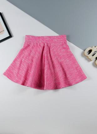Трикотажная юбка на 9-10 лет, рост 134-140 см