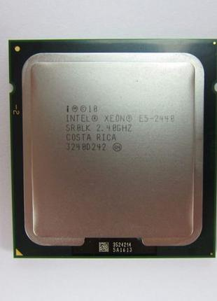 Процессор Intel Xeon e5 2440 6 ядер 2,4 Ghz сокет LGA 1356