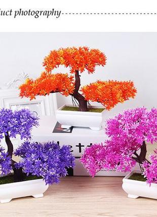 Дерево бонсай искусственное