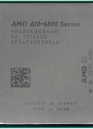 Процессор AMD A10-6800K 4 ядра 4.4 ггц топовый для сокета FM2