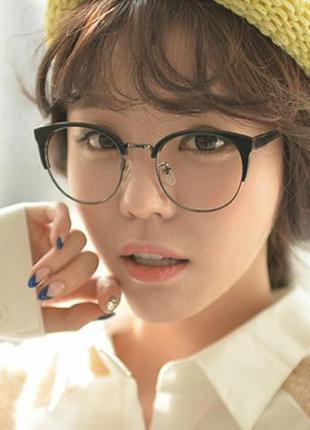 Акция ° Имиджевые очки ° Нулевки для имиджа ° Прозрачные линзы