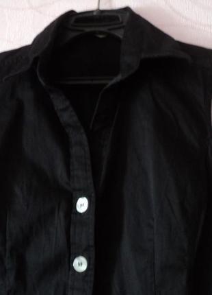 Черная рубашка без рукавов, трикотажная рубашка на 1 сентября,...