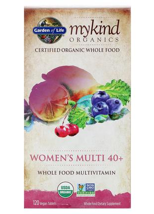 Garden of Life, Мультивитамины для женщин в возрасте старше 40...