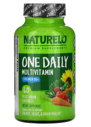 NATURELO, мультивитамины для мужчин старше 50 лет для ежедневн...